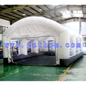 Car Painting Inflatable Tent/White Oxford Inflatable Tent pictures & photos