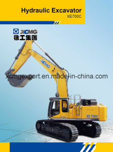 XCMG Xe700c 68ton Crawler Excavator pictures & photos