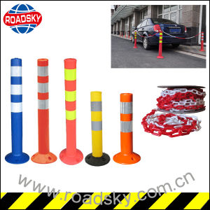 Road Security Flexible Car Parking Post Traffic Bollard pictures & photos