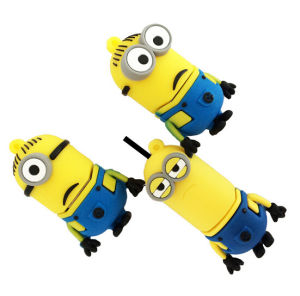 Factory Price 2GB / 4GB / 16GB / 32GB /64GB PVC Cute Minion USB Flash Drive for Gift Toy pictures & photos