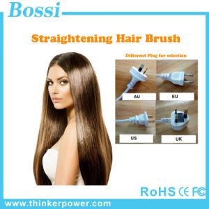 2016 New Magic LCD Display Hair Straightening Brush Ceramic 29W Digital Anti Static Electric Hair Straightener
