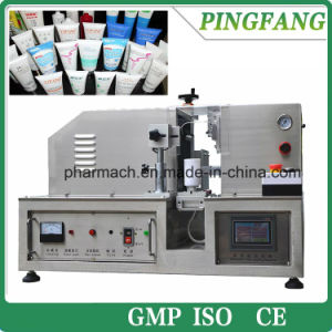 Hx-007 Semi-Automatic ultrasonic plastic soft Tube Sealing Machine pictures & photos
