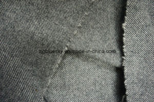 Grey & White Wool Fabric with Twiil pictures & photos