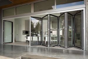 Topbright Popular Powder Coated Aluminum Bifold Doors pictures & photos