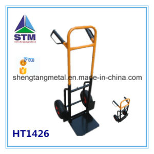 Europe Popular Factory Price Two Wheel Hand Trolley (ht1805) pictures & photos