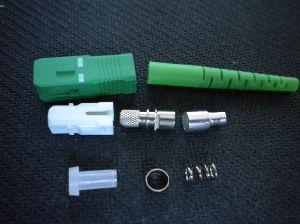 Sc/APC Simplex 3.0mm- Fiber Optic Connector