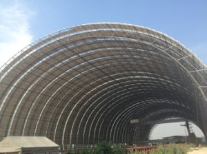 Large Span Steel Space Frame Joint Coal Storage Shed pictures & photos