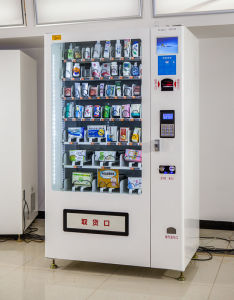 Automatic Vending Machine for Books & Magzines & Toys& T-Shirt & Mobile Phone Accessories pictures & photos