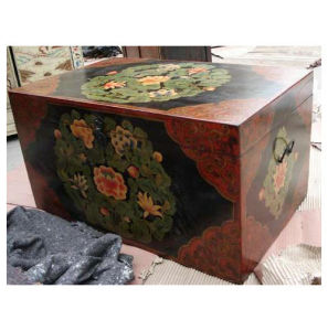 Antique Painted Lift Top Trunk Lwf126 pictures & photos