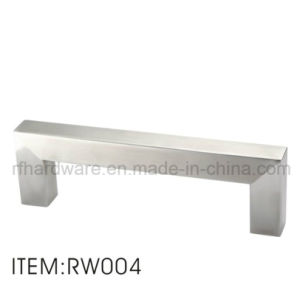 Furniture Stainless Steel Wooden Door Handle pictures & photos