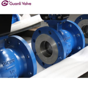 Segmented V Port Ball Valves Pn16/Class150 in Wafer&Flange Ends Wcb/CF8m pictures & photos