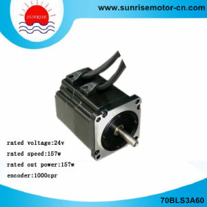 70bls3a60 24V 0.5nm 1000CPR Brushless (BLDC) DC Servo Motor pictures & photos