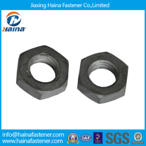 10.9grade DIN439 Hexagon Thin Nuts for Petro-Chemical Industry pictures & photos