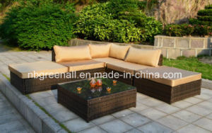 L-Modern Outdoor Furniture Wicker Sofa Garden Furniture pictures & photos