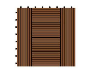 300*300*22mm Factory Hot Sale WPC DIY Decking Flooring pictures & photos