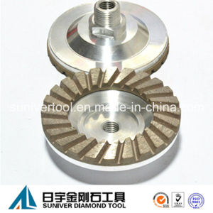 Diamond Welded Turbo Cup Wheels for Grinding Stone pictures & photos