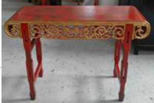 Chinese Antique Furniture Carving Table pictures & photos