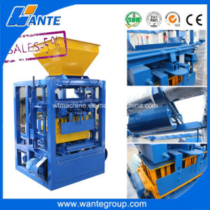 Algerie Qt4-24 Automatic Concrete Block Making Machine Best Quality pictures & photos