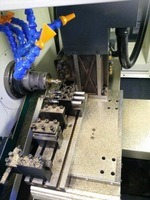 Mitsubishi M70 Control System Higher Precision Good Stability CNC Lathe pictures & photos