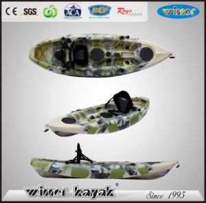 Single Sit on Top Recreational Plastic Fishing Kayak pictures & photos