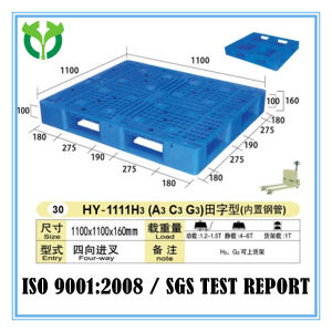 1100*1100 Heavy Duty Open Bottom Deck Supplier Distributor Plastic Pallet