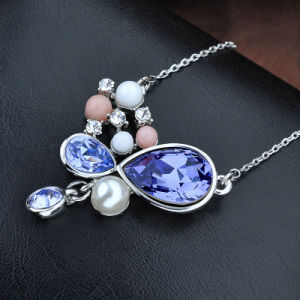 High Quality Austrial Crystal Pearl Bead Fashion Jewelry Necklace pictures & photos