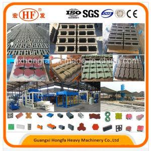 Automatic Hydraulic Cement Concrete Block Brick Making Machine pictures & photos