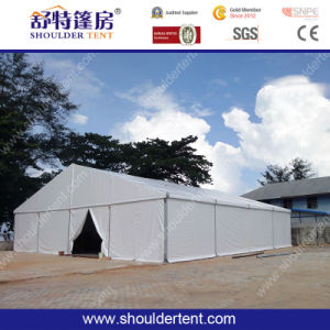 Shoulder Temporary Aluminum Warehouse Storage Tent pictures & photos