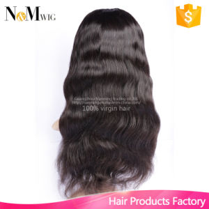 Brazilian Lace Front U Part Human Hair Wig for Black Women Glueless Full Lace U Part Wig Brazilian Upart Wig Hair Body Wave pictures & photos