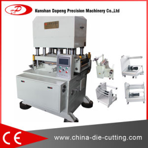 Hydraulic Type Aluminum Foil Paper Die Cut Machines pictures & photos