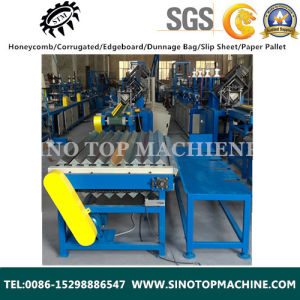China Paper Cardboard Corner Protector Machine Supplier pictures & photos