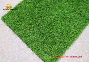 High Quality PE Green Artificial Grass Yarn for Garden Withoud Sand pictures & photos