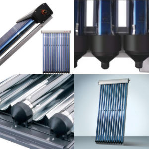 Hot Water Heating Heat Pipe Solar Collector pictures & photos