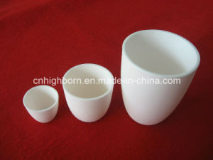 Refractory Corundum Ceramic Crucible for Laboratory pictures & photos