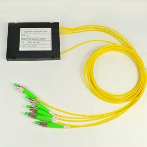 1X4 2.0mm FC APC ABS Package PLC Splitter pictures & photos
