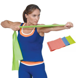 Theraband Resistance Band Loop Comes in Various Resistance Level pictures & photos