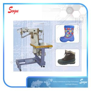 Xs0243 Doubie Needle Seated Type Inseam Sewing Machine pictures & photos