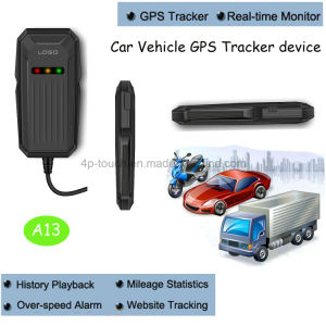 Car/Motorcycle/Vehicle GPS Tracker with SIM Card Slot and Anti-Theft A13 pictures & photos