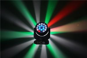 19PCS 15W 4in1 RGBW Osram LED Wash Light Moving Head