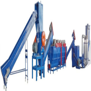 Waste Plastic Recycling Line PE Film Washing Production Line (300kg/h)