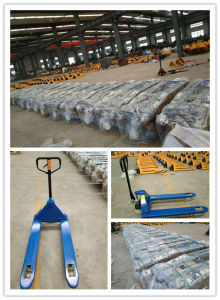High Quality Hand Pallet Truck pictures & photos