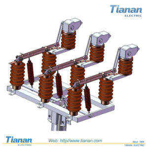 Outdoor AC High-Voltage Disconnector Hv Contactor (GW4-40.5-1) pictures & photos