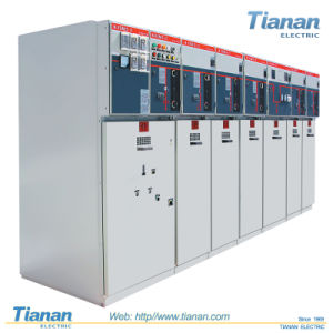 Hxgn-12kv Sf6 High Voltage Electrical Switch Power Cabinet Rum Switchgear pictures & photos