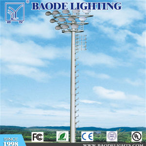 15m High Mast Street Lighting Pole with Flood Light pictures & photos