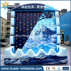 Customized Inflatable Rock Climbing Wall Inflatable Sport Game for Sale