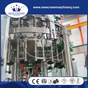 PLC Control Level Glass Installed Beer Bottling Machine for Swing Stopper pictures & photos