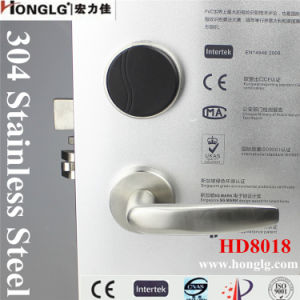 Honglg RFID Card Electronic Hotel Lock pictures & photos