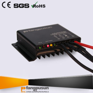 Solar Energy Street Light System 360W Waterproof 15A Intelligent PWM Mini Solar Charge Controller 12V 24V pictures & photos