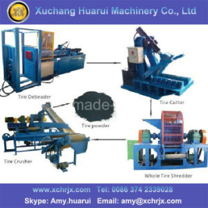 Waste Tyre Recycling Used Tire Cutter/Used Tire Cutting Machine for Sale pictures & photos