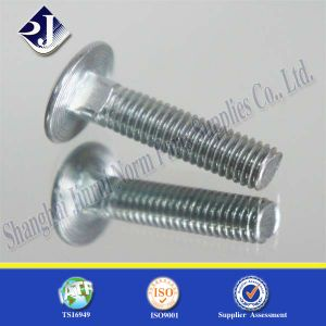 Bright Zinc Round Head Carriage Bolt pictures & photos